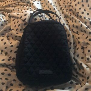 Black Vera Bradley Lunch Bag